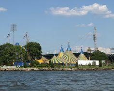 Kooza Cirque du Soleil, Carl Icahn Stadium, Randalls Island, New York City