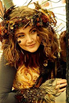 Cute Costume -Woodland Sprite (cool gauntlets)