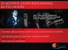 """Tepe Nautilus bu hafta yine etkinliklerle dopdolu. TSK """"Büyük Zafer ve Atatürk"""" Fotoğraf Sergisi Tepe Nautilus'ta sizleri bekliyor..."""