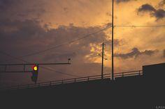 Sunset / Traffic Light | Flickr - Photo Sharing!