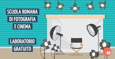 Laboratorio gratuito presso la Scuola Romana di Fotografia e Cinema
