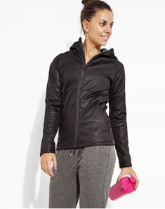 kurtka damska, kurtka sportowa, odzież sportowa, stylizacja damska Adidas, Athletic, Zip, Jackets, Products, Fashion, Down Jackets, Moda, Athlete