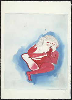 Louise Bourgeois. Don't Put Your Foot in Your Mouth, state I, variant. (1999-2000)