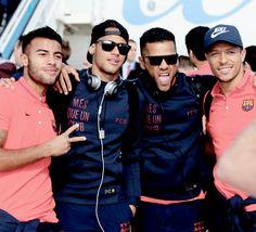 #Rafinha #Neymar #Alves #Adriano