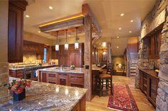Designing a Kitchen That Delights | News | Log Cabin Homes