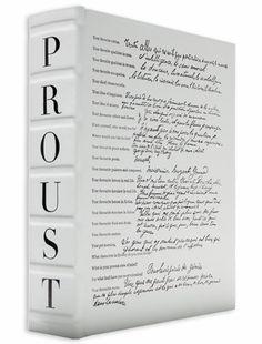 Proust Questionnaire by Assouline