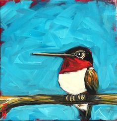"""Daily Paintworks - """"Smitty"""" - Original Fine Art for Sale - © Kandice Keith"""