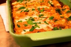 Chicken Enchiladas: these are some of the best I've ever had. . .