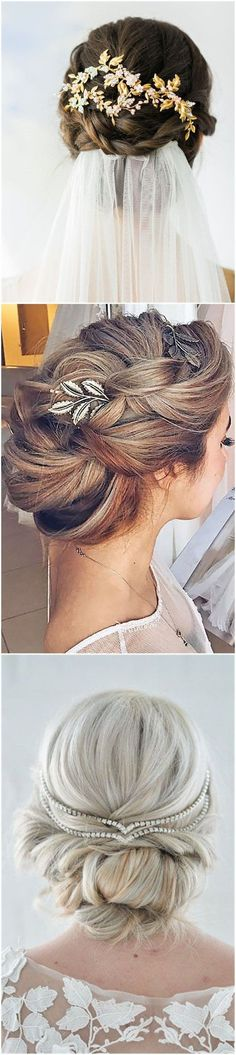 Awesome Wedding Hairstyles » Hair Comes the Bride – 20 Bridal Hair Accessories Get Style Advice for Any Budget ❤️ See more:  www.weddinginclud…  The post  Wedding Hairstyles » Hair Co ..