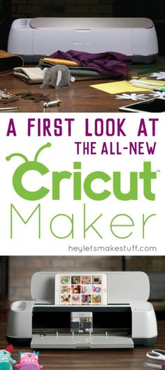 What is the new Cricut Maker machine and what does it do differently than the Cricut Explore? Learn all of the features of the new cutting machine so you can make an informed decision about buying one! Previous Post Next Post Cricut Craft Room, Cricut Vinyl, Cricut Air, Cricket Machine, Circuit Crafts, Circuit Projects, Vinyl Projects, Money Making Crafts, Cricut Help