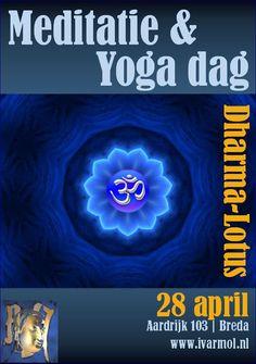 Aanstaande zaterdag is er wederom een yoga en meditatiedag bij Dharma-Lotus in Breda. Na een korte uitleg volgt 1 uur begeleide yoga gevolgde door 2 blokken van concentratie meditatie. Tussendoor is er een lichte lunch en aan het einde een vragenronde..  Yoga is een perfecte methode om blokkades in het lichaam te herkennen. Meditatie is een perfecte methode om de blokkade te bezien voor wat het is.
