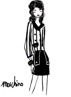 Moschino Milan Womenswear S/S 2013 by Rei Nadal.
