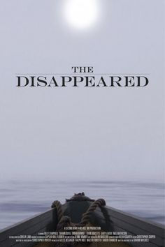 The Disappeared International 1-Sheet