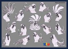 Sergio Pablos animation Studios - Project explorer.