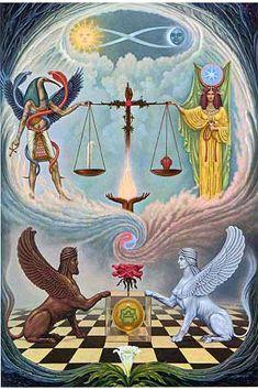 Libra - gnostic astrology explanation