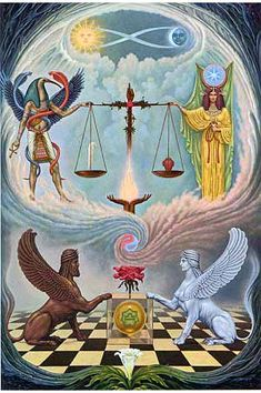Libra - gnostic astrology explanation