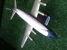 South African Airways Vickers Viscount 810 840 Scale Model in Metal. South Africa. 1956.