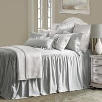 Revamp your bedroom into a cozy retreat with the Luna Bedspread Set from HiEnd Accents. Adding tranquil beauty to your space, the bedspread features a textured fabric for added luxury and dimension to your top of bed. Gray Bedspread, Gray Bedding, Red Comforter, King Pillows, Pillow Shams, Affordable Bedding, Affordable Furniture, Bed Styling, Bedding Collections