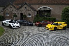 Exige Family (S1, S2 Cup 260, V6 and V6 prototype)
