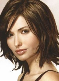 nice Wavy: Hairstyles For Thick Wavy Hair Oval Face, Short, Over 50