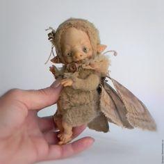 Купить Шкафская Королева, 14 см - бежевый, авторская кукла, коллекционная кукла…