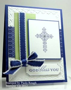 Challenge 251 for baptism by atpaulasplace - Cards and Paper Crafts at Splitcoaststampers