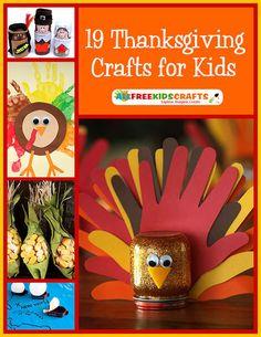 19 Thanksgiving Crafts for Kids - Prime | Crafts & Hobbies |920471785