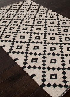 Jaipur Rugs Scandinavia Nordic x Flat Weave Wool Rug for sale online 4x6 Rugs, 8x10 Area Rugs, Ebony Color, Jaipur Rugs, Black Rug, Black Wool, Black White, Geometric Rug, Contemporary Area Rugs