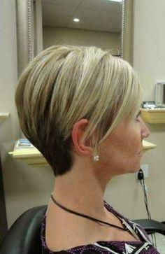 Corte de cabelo curto Lovely !!!