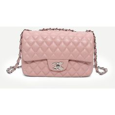 Quilted Detail Chain Bag ($15) ❤ liked on Polyvore featuring bags, handbags, quilted purses, chain purse, quilted chain handbag, pink handbags and chain handbags