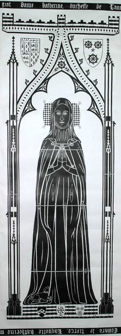 Katherine Swynford Roet  1350–1403    BIRTH 1350 NOV 25 • Hainaut, Belgium  DEATH 1403 MAY 10 • Lincoln, Lincolnshire, England  19th great-grandmother. Burial: Lincoln Cathedral, Lincoln, Lincolnshire, England (Eddy Family) Husbands: Hugh Swynford SGF & John Plantagenet 'Gaunt'