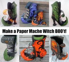 All Things Crafty: Witch BOO't Tutorial/Pattern FINALLY Available on Etsy.com!!