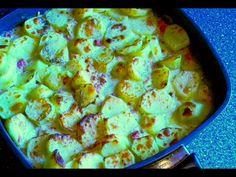 Nejlepší zapečené brambory se šunkou (Baked potatoes with ham) - videorecept - YouTube