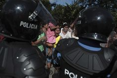 Credit: Esteban Felix/AP San Juan de la Concepción, Nicaragua: Supporters of the Liberal Independent party demonstrate against the president...
