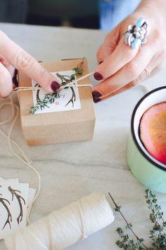 DIY Holiday Gift Ideas + Christmas Cards on Kara's Party Ideas   KarasPartyIdeas.com (12)