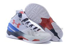 f3dbea732291 Under Armour Curry 2 White Blue-Navy Red