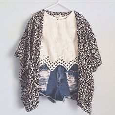 kimono. shorts. summer. spring.