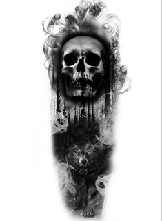 When using, please indicate the credits due. tatuagem tatuagem cascavel tatuagem de rosa tatuagem delicada tatuagem e piercing manaus tatuagem feminina tatuagem moto clube tatuagem no joelho tatuagem old school tatuagem piercing tattoo shop Wolf Tattoos, Evil Tattoos, Scary Tattoos, Badass Tattoos, Viking Tattoos, Evil Skull Tattoo, Skull Rose Tattoos, Body Art Tattoos, Tattoo Drawings