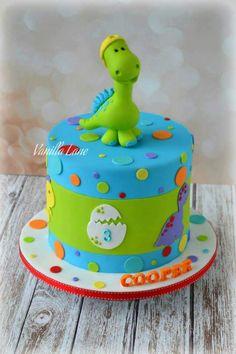 Cute dinosaur cake                                                                                                                                                                                 More