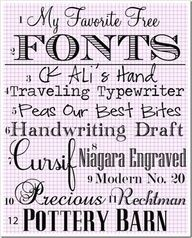 My Favorite Free Fonts Some cool fonts here. Fancy Fonts, Cool Fonts, Awesome Fonts, Pretty Fonts, Schriften Download, Typographie Fonts, Clipart, Digital Marketing Strategy, Monogram