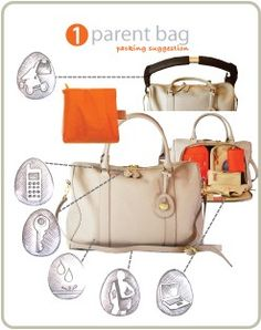 Leather changing bag | tote style | PacaPod