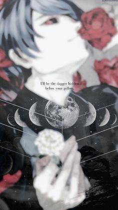 I'll be the dagger hidden below your pillow. | Tsukiyama Shuu || Tokyo  Ghoul