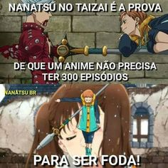Seven Deadly Sins is proof that an anime doesn't need to have 300 episodes to be fucking awesome Anime Meme, Manga Anime, Otaku Meme, Kamigami No Asobi, Nerd, Cartoon Games, Geek Humor, Seven Deadly Sins, Digimon