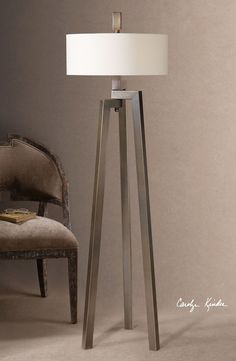 Uttermost 'Mondovi' Hand Forged Metal Floor Lamp