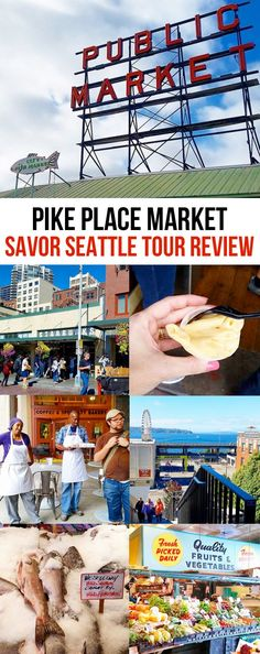 Sharing my experience with a Savor Seattle Food Tour Of Pike Place Market. Such a fabulous way to see Pike Place Market, try a lot of delicious foods and learn so much!