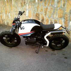 "Alessandro på Instagram: ""#puzzlegarageroma #bmw #bmwk75 #k #75 #srambler #traker #motociclismo #moto #custom #caferacer"""