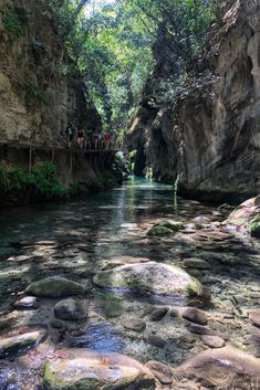 Swim through rivers, walk along canyon walls, stand under cascading waterfalls, and more on a day trip to the Sierra Gorda Biosphere Reserve in Queretaro, Mexico. Learn exactly how to add it to your Mexico itinerary with this new guide! Hiking Spots, Go Hiking, Best Hikes, Mexico Travel, Plan Your Trip, World Heritage Sites, Day Trip, Where To Go, Waterfalls