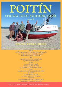 World Music, Celtic, Irish, Tours, Album, Summer, Movies, Movie Posters, Summer Time