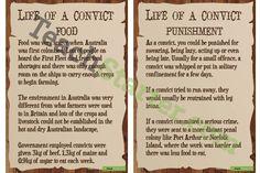 Australian Convict Life Posters
