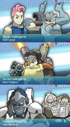 Overwatch and Pokemon 6